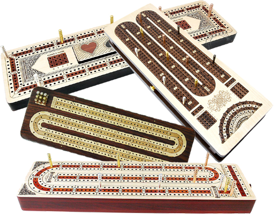 Continuous Cribbage Boards